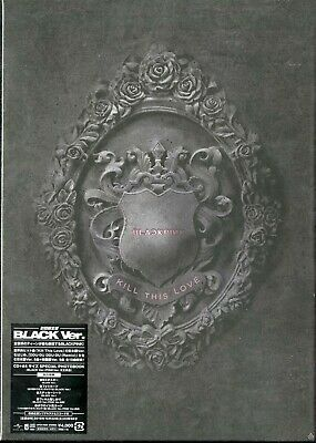 BLACKPINK-KILL THIS LOVE -JP VER.-(BLACK VER.)-JAPAN CD+BOOK Ltd/Ed J50