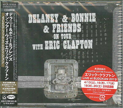 DELANEY & BONNIE AND...-ON TOUR WITH ERIC CLAPTON-IMPORT 4 CD+BOOK Ltd/Ed I72