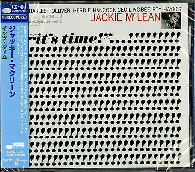 JACKIE MCLEAN-IT'S TIME!-JAPAN CD Ltd/Ed C41