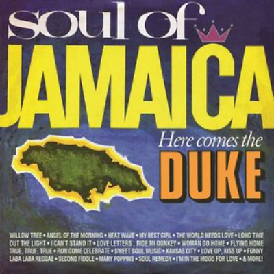 V.a.-Soul Of Jamaica / Here Comes The Duke-Import 2 Cd With Japan Obi F96