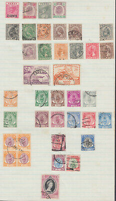 Malaya States / Perak Unchecked Mixed Condition Selection per Scan; Ref: 341
