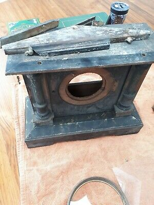 Spares Or Repair Vintage German Clock P H & S