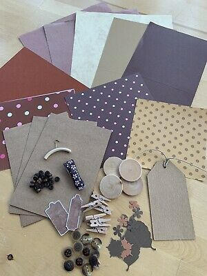 Craft Clear Out - Various Items As Pictured - Brown Theme