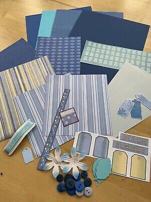 Craft Clear Out - Various Items As Pictured - Blue Theme