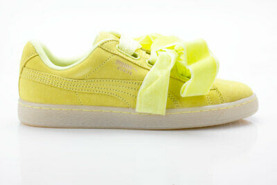 Puma Suede Heart Reset Wn S Yellow Sneakers