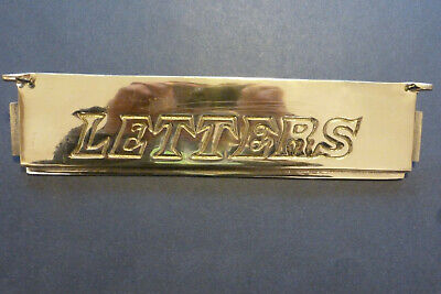 Solid Brass  Letter Box Plate Door ONLY
