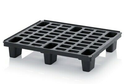 Plastic Pallet, Lightweight and Robust, NEW, 3 PACK, Nestable