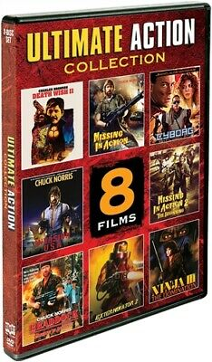 ULTIMATE ACTION COLLECTION 8 FILMS New DVD Missing in Action 1 2 3 Death Wish II