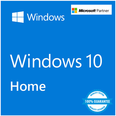 Windows 10 Home 32/64bits  Sist. Operativo FAST KEY. (100% original) EDCOMPLEM.