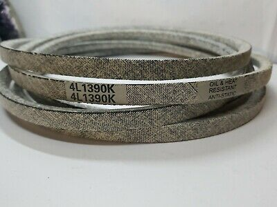 """Industrial /& Lawn Mower Belt  A128K 4L1300K 1//2 X 130/"""" Made with Kevlar"""