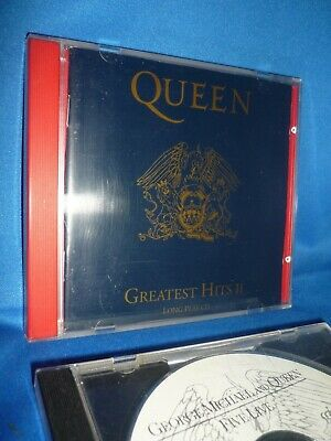 QUEEN - Greatest Hits II (CD 1991) + George Michael & Queen: FIVE LIVE (1993)