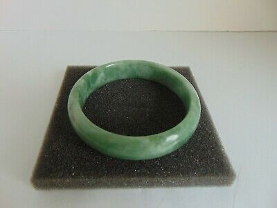 Beautiful Chinese Gold 60mm Hand Carved Pure Natural Jade Bangle Bracelet L@@K!