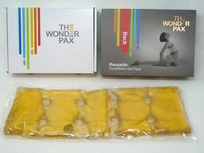 The Wonder Pax Back Reusable Cool/Warm Gel Pack Click To Activate MIB