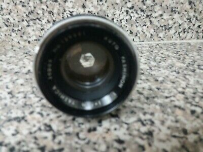 Yashica Auto Yashinon 5cm 50mm F/2 MF Lens No 129351 for M42 Mount from Japan