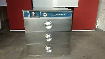 Alto-Shaam 5003D Three Drawer Warmer in Good Condition