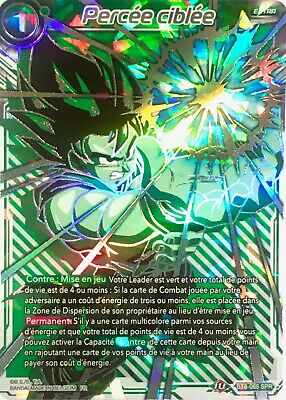 BT8-065 SPR : Percée ciblée | Carte française Dragon Ball Super Card Game DBS