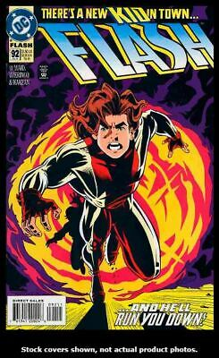 Flash (2nd Series) 92 FN 1st Appearance of Impulse