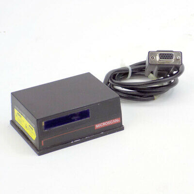 MicroScan MS-710 (FIS-0710-0170) Fixed Laser Barcode UPC Scanner RS-232