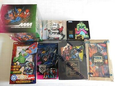 Marvel Trading Cards pack lot NEW from factory sealed box, Awesome savings!
