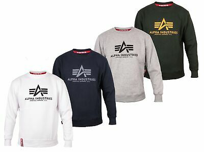 Alpha Industries Herren Pullover Crew Neck BASIC Sweatshirt