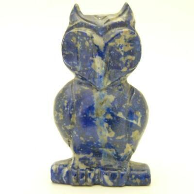 Chinese Carved Lapis Lazuli Figure Of An Owl