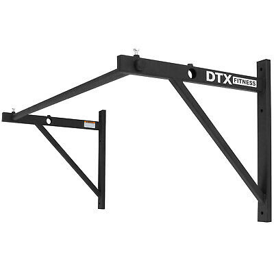 DTX Fitness Commercial Gym Wall Mounted Pull/Push Chin Up Bar Exercise/Workout
