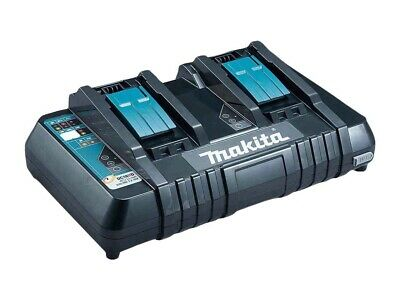 Makita DC18RD 240v 18v Dual Port Fast Battery Charger with USB Charging Port
