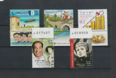 Israel 2015 Various Issues MNH per scan