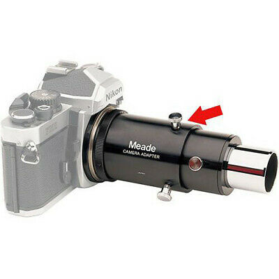 """Meade Variable Projection Camera Adapter which Accept 1.25"""" Eyepieces"""