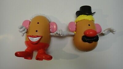 Mr And Mrs Potato Head Wedding Day Set Toy Story Disney Pixar incomplete