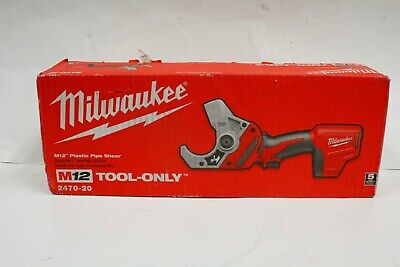 Milwaukee M12 12-Volt Cordless PVC Shear 2470-20 Power Tool Only