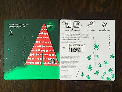 """Canada Series Starbucks """"LITTLE TREE DOTS 2019"""" Gift Card - Special '*' Marker"""