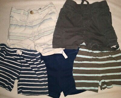 Boys size 12 months lot (5) of shorts summer