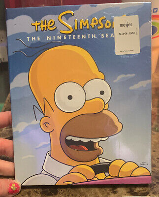 Simpsons: Season 19 DVD