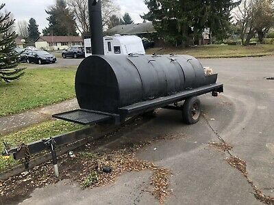 Large Commercial Custom Smoker.