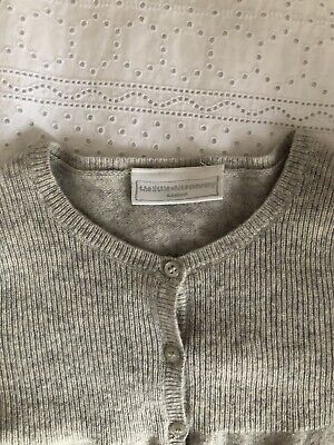 The Little White Company Cashmere Cardigan With Star 3-4 Years