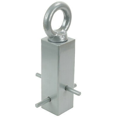 Ryde Grey Ground Anchor Cement In Lock Bike/Scooter/Motorcycle Security Chain