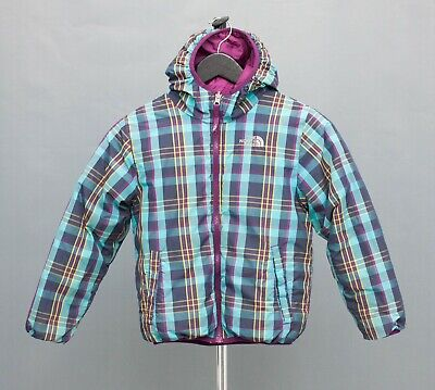 Down Jacket THE NORTH FACE Girls Nuptse Reversible Coat 7-8 Years
