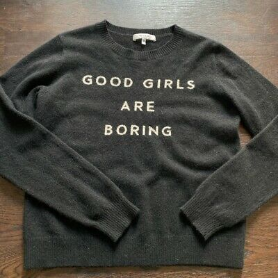 Milly Good Girls Are Boring Jumper - S