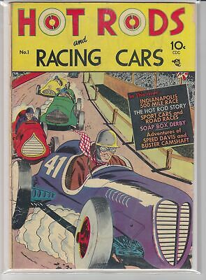 Hot Rods And Racing Cars # 1