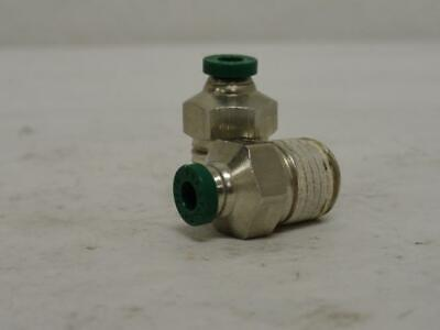 """175780 New-No Box, Parker W68PLP-5/32-4 Lot-2, Push/Connect Fittings, 5/32"""" Tube"""