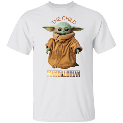 The Child Mandalorian Baby Yoda Star War Men's T Shirt