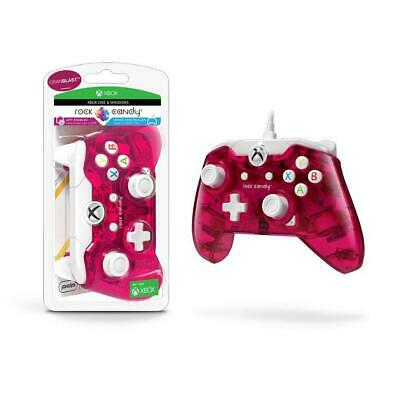 Xbox One & Windows Controller Wired Cranblast Rock Candy PDP