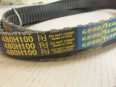 NEW GOODYEAR 480L100 TIMING BELT POSITIVE DRIVE