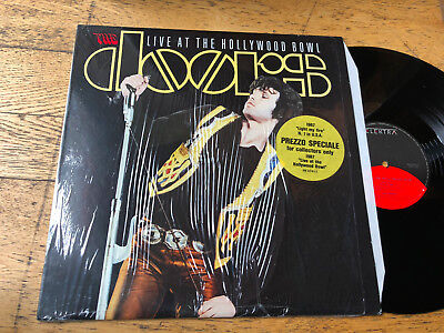 LP 1987 ITALY    The Doors ‎– Live At The Hollywood Bowl NM M