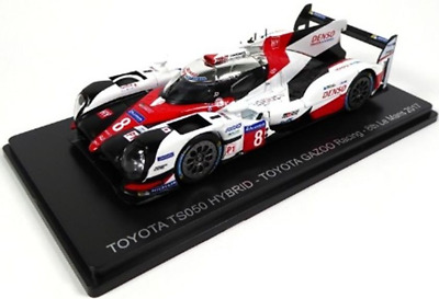 MAG MB01 Toyota TS050 HYBRID #8 GAZOO Racing 8th Le Mans 2017 1:43 Scale