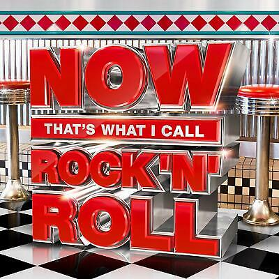NEW SEALED 3CD ~ NOW That's What I Call  Music - Rock And Roll Greatest Hits