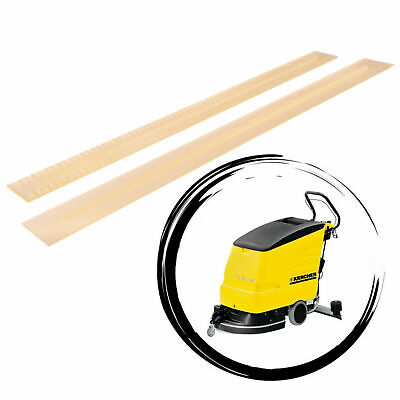 Squeegee Rubbers for Karcher BD 530, BR 530, XL BD 550 BR 550 Set Oil Resistant