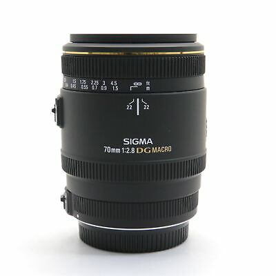 SIGMA 70mm F2.8EX DG MACRO(for SIGMA SA) -Near Mint- #257