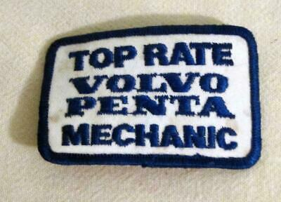 Rare Vintage Top Rate Volvo Penta Mechanic Embroidered Patch Unused